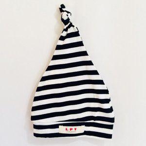 Organic Baby Hat {Stripe} NWT